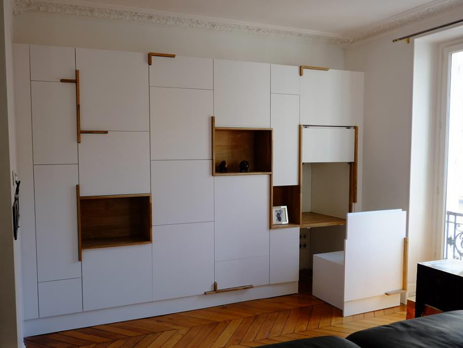 Mobilier modulable - Silhouette Urbaine Architectes
