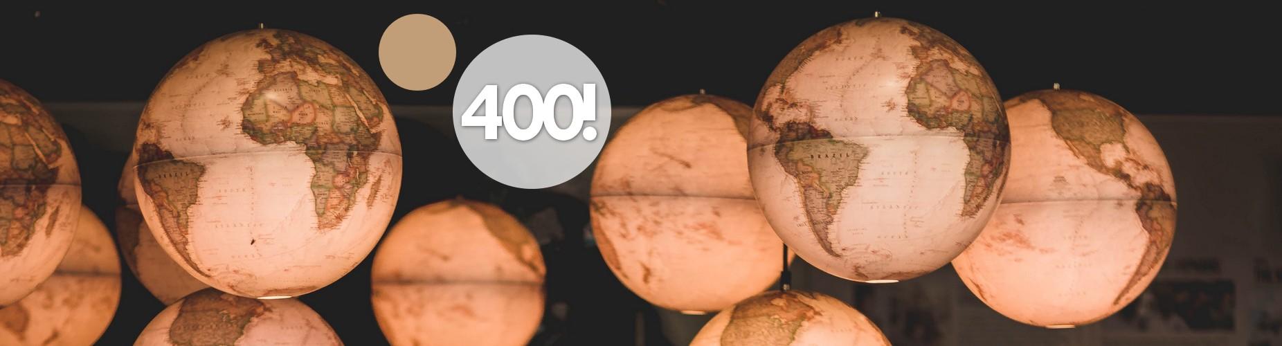 400 sur l'Urbamap