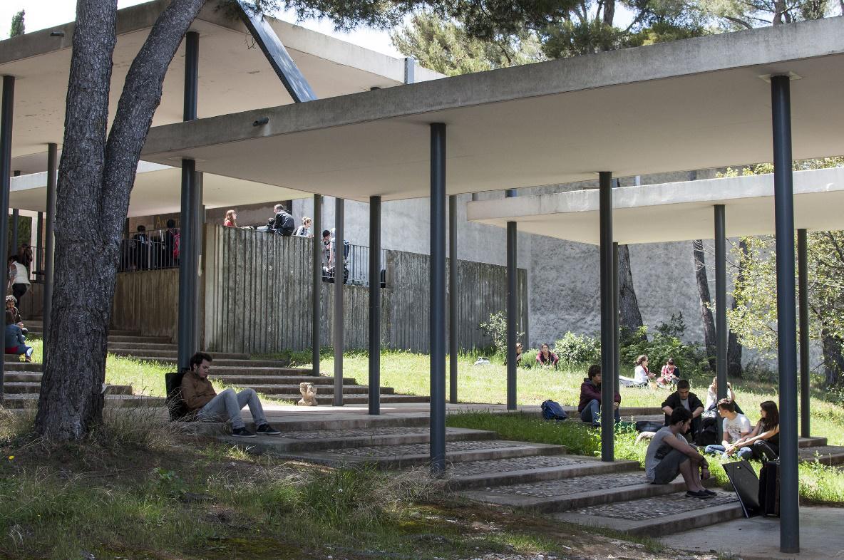 Marseille Luminy, et mes débuts d'étudiante en architecture