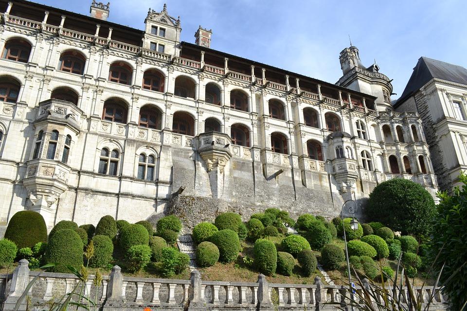 Chateau de blois centre