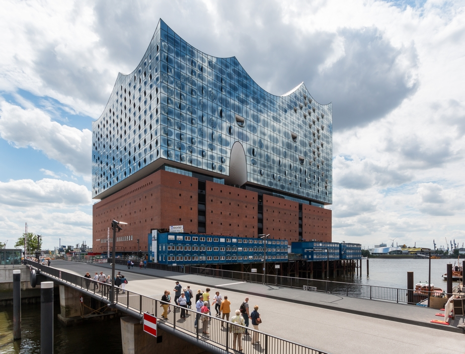 Hamburg Hafencity Elbphilharmonie