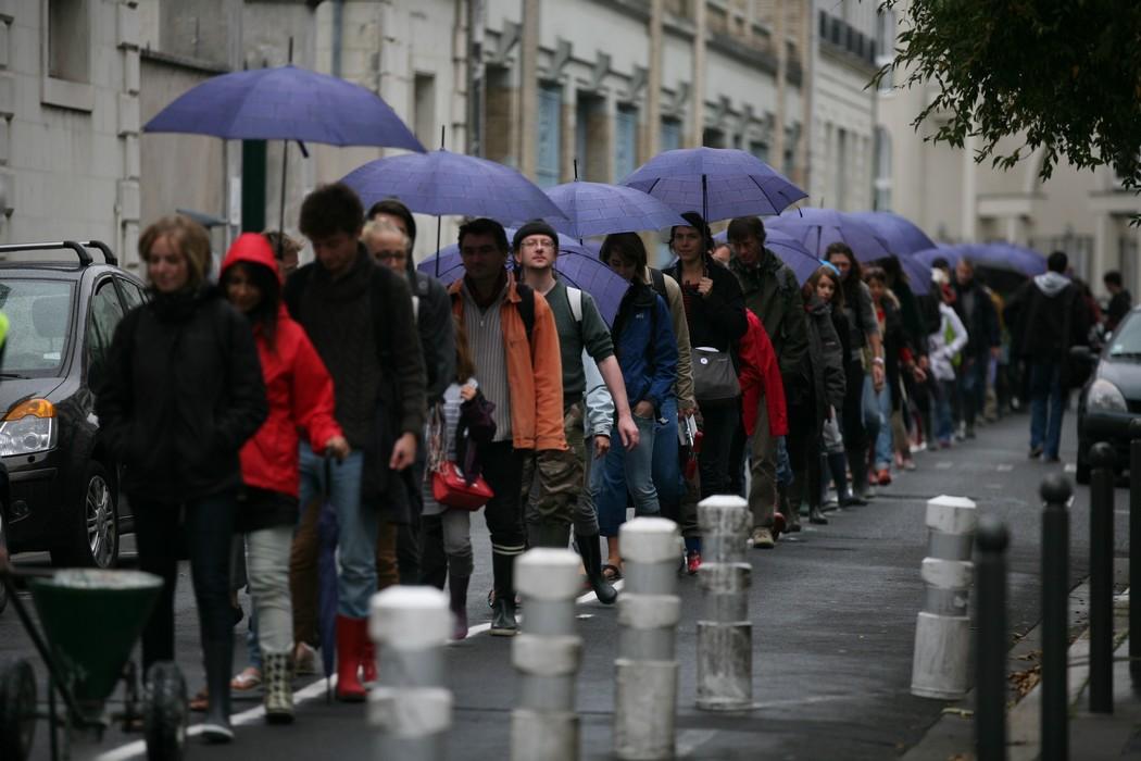 Jour inondable marcher sur la ligne du ppri polau la folie kilometre pascal lordon 2012 b