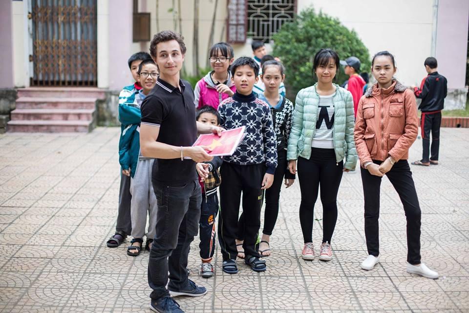 Kevin girard #ServiceCivique Vietnam
