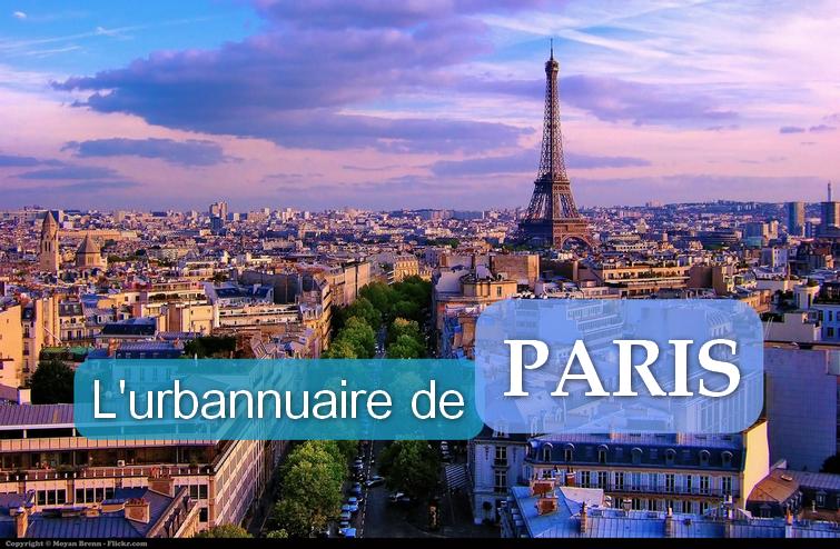 Urbannuaire de Paris   Urban planning directory of Paris