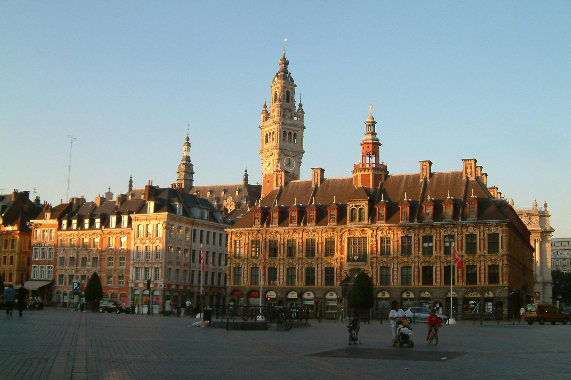Lille Grande Place