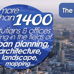 The Urban Planning Directory of London is more than one year old