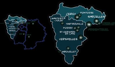 Urbannuaire du VAL D'OISE et des YVELINES