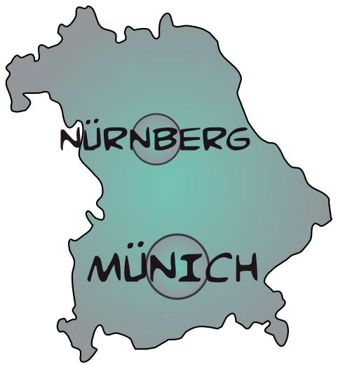 Map bayern 1