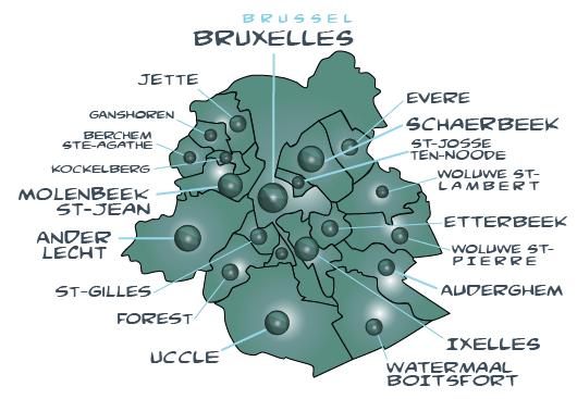 Map bruxelles 1