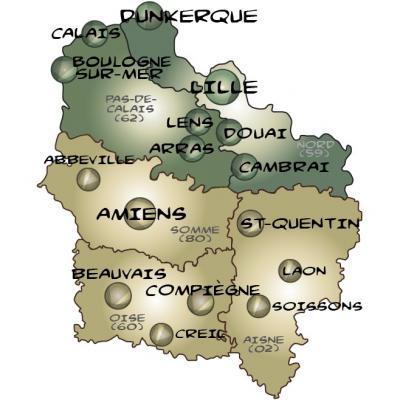 Urbannuaire des HAUTS-DE-FRANCE