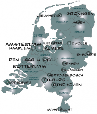 Urban planning directory of THE NETHERLANDS
