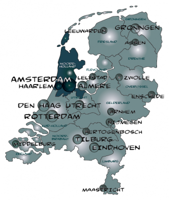 Urban planning directory of AMSTERDAM
