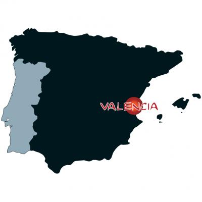 Map valencia en espana 1