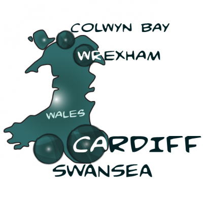 Map wales