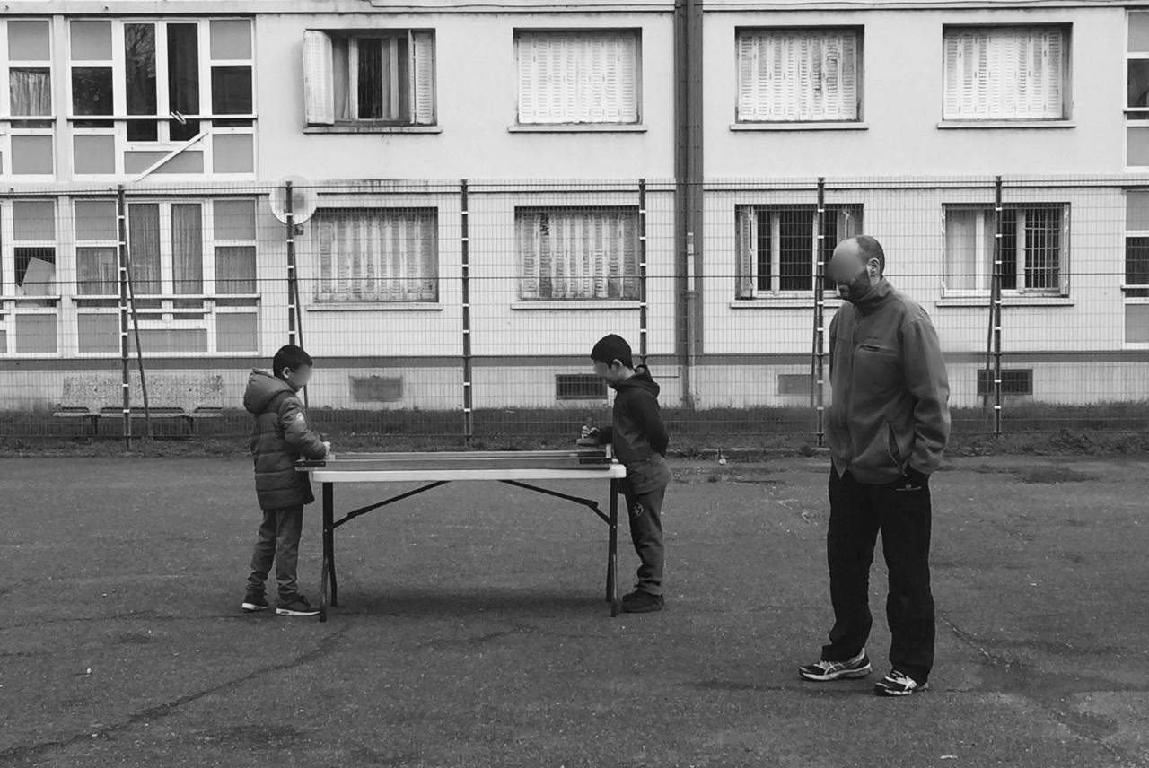 Marie Pauget _ Service Civique _ Photo prise lors d'un temps de jeu