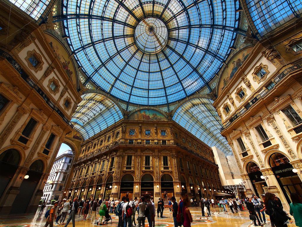 Milano galleria vittorio emmanuele
