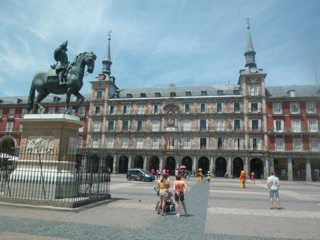 Plaza Mayor de Madrid_Adeline Delion Bourgois
