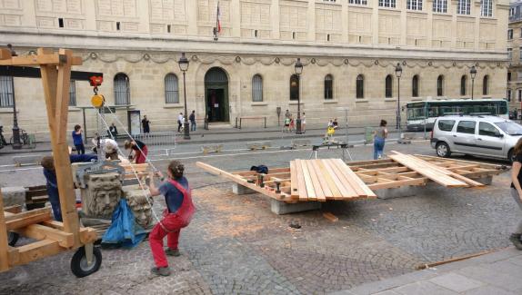 Pantheon juin 2017 Zélia Bobillier #ServiceCivique