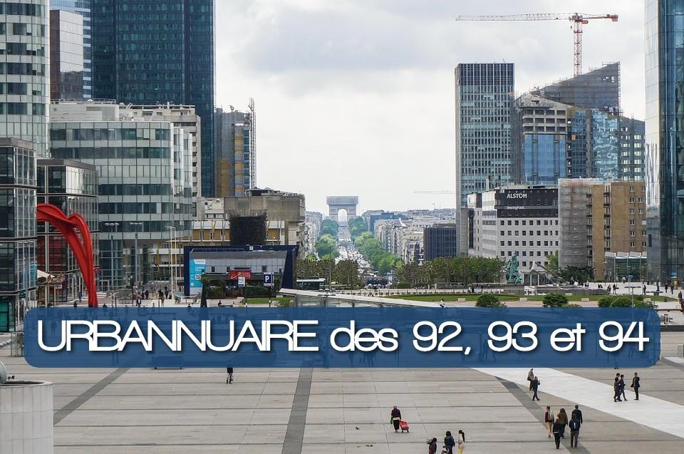 Urbannuaire de la Petite Couronne Parisienne_92 93 94