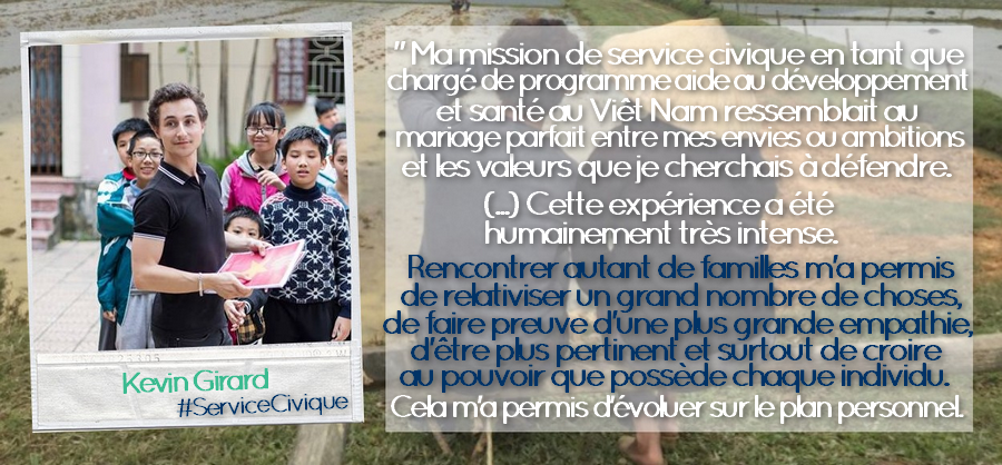 Photo citation _ Kevin Girard #ServiceCivique