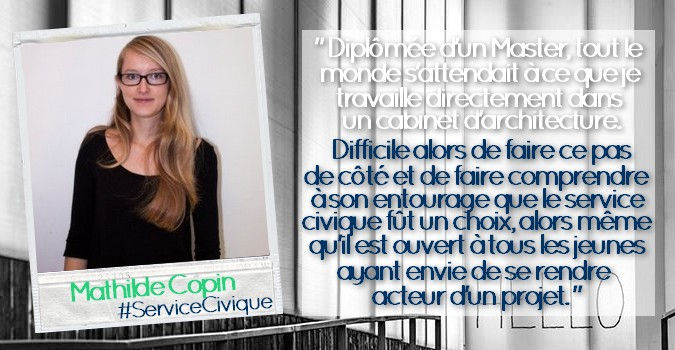 Photo citation _ Mathilde Copin #ServiceCivique