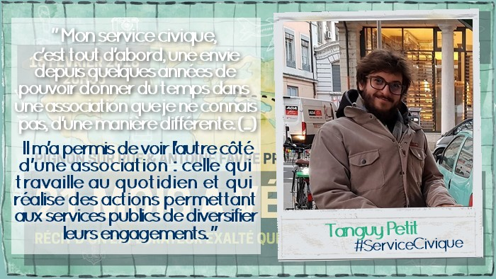 Photo citation Tanguy Petit #ServiceCivique