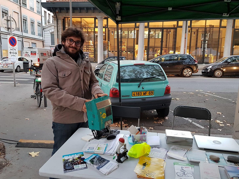Tanguy Petit #ServiceCivique pour la Maison du Vélo de Lyon