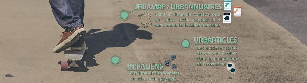 Les 4 outis d'Urbaliste.fr