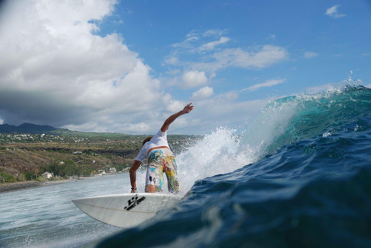 Surf a saint leu_La Réunion