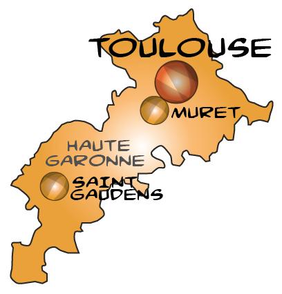 Toulouse in haute garonne