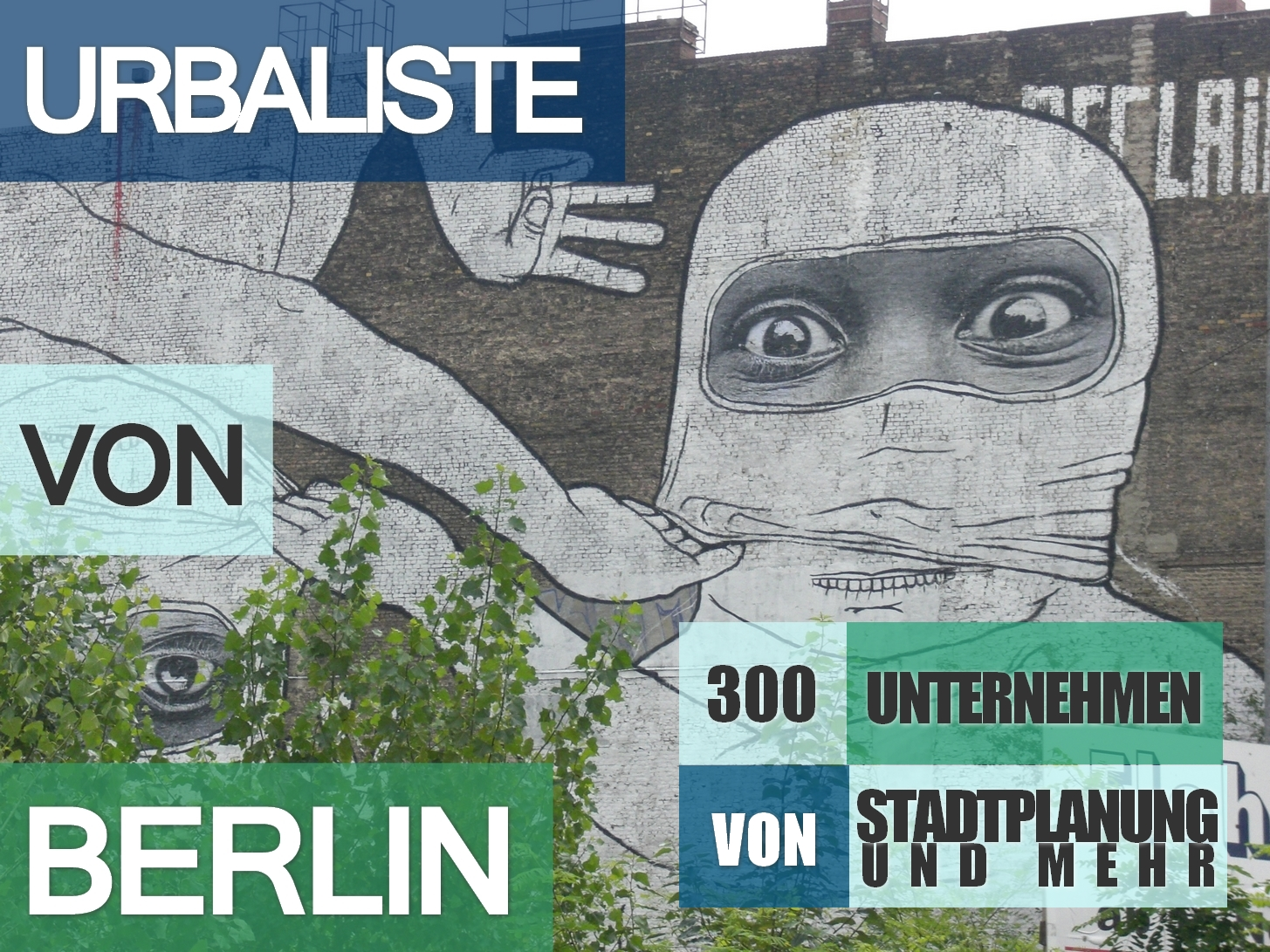 Urbaliste Berlin graffiti