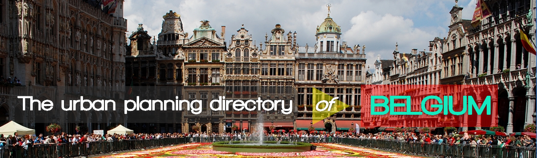 The Urban Planning Directory of Belgium