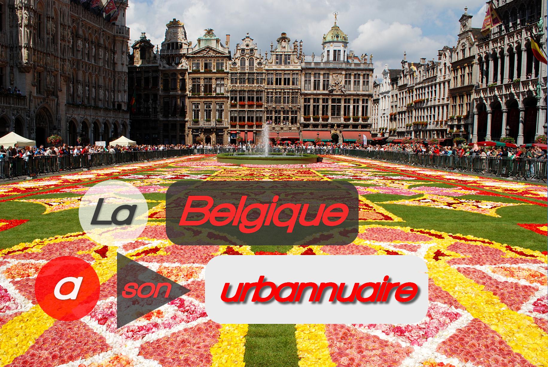 Urbannuaire belgique