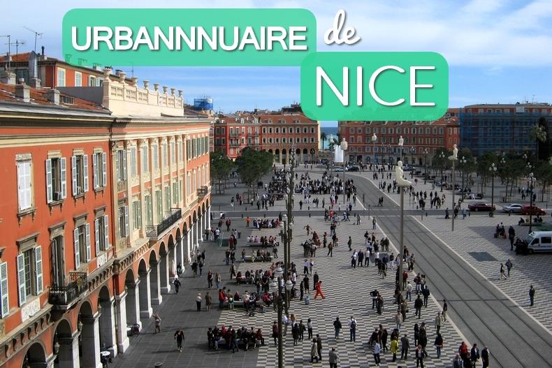 Urbannuaire de Nice