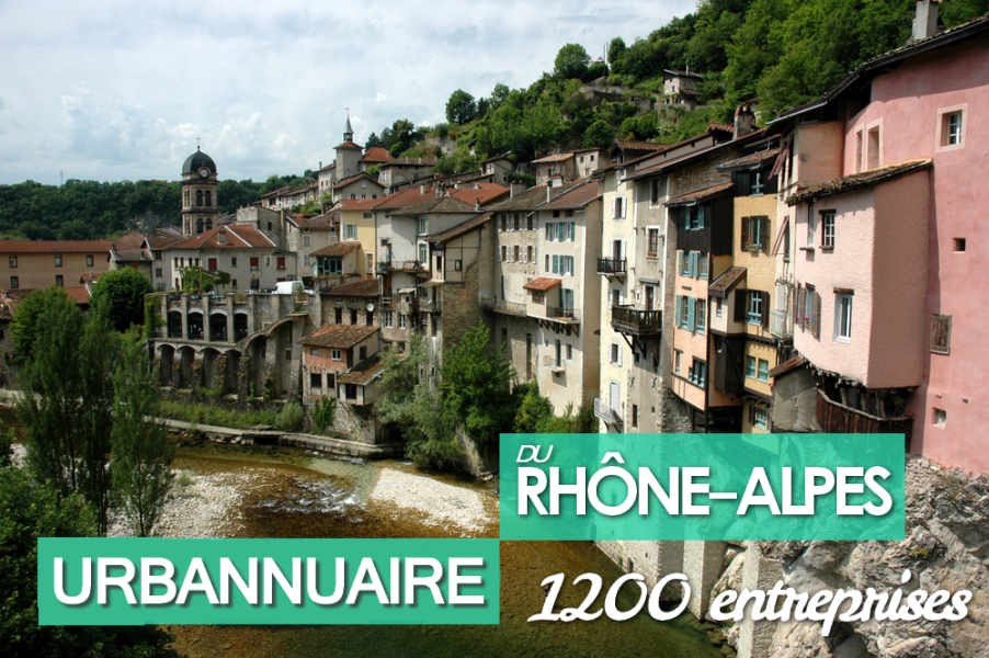 Urbannuaire du Rhône-Alpes