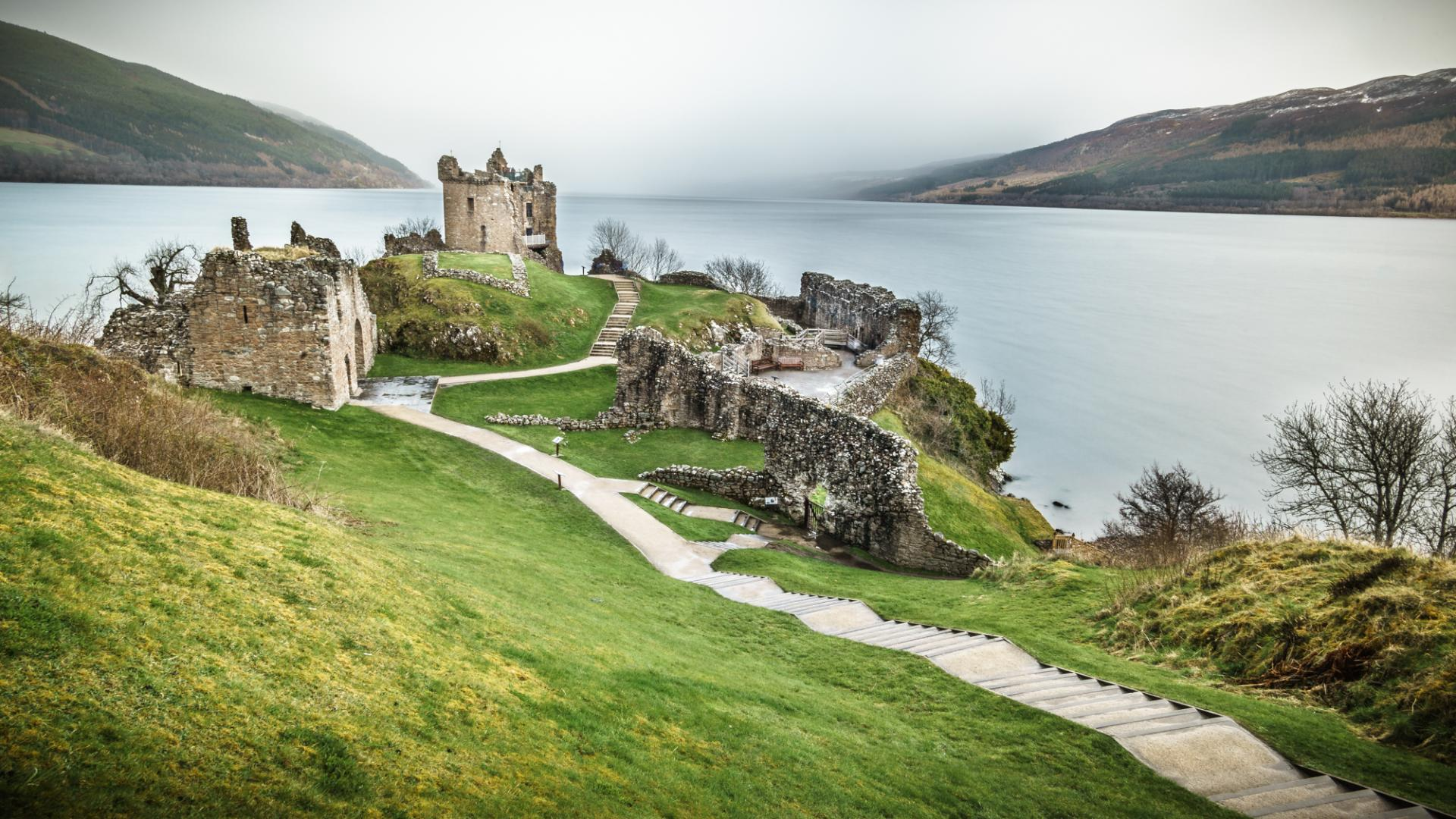 Urquhart castle of the Loch Ness, Inverness, Scotland