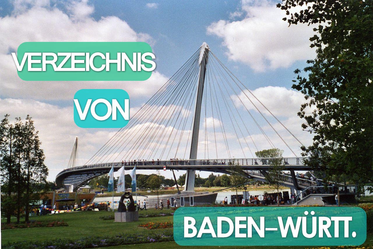 Verzeichnis Baden Wurttemberg
