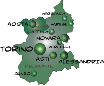 Urban planning directory of TURIN, PIEDMONT e AOSTE